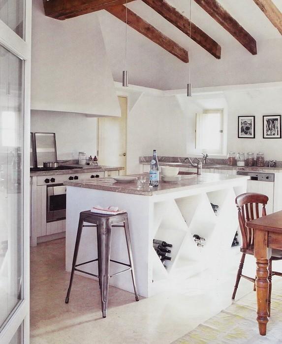 Подбираем мебель для кухни в стиле Прованс